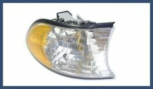 Genuine BMW E38 (98-01) Turn Signal Light w/ White Lens Right Front 63136905322