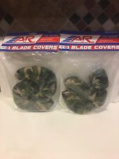 2 Sets A&R Sports Blade Covers, Camo, Large And Small