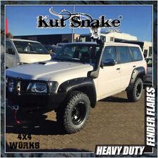 Kut Snake Wheel Arches Fender Flares for Nissan Patrol GU GR Y61 2004-on