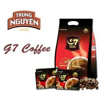 G7 Trung Nguyen Black Coffee 100pcs(200g) Vietnam Coffee Pure Soluble Best Price