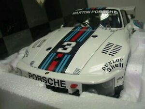 WOW EXTREMELY RARE Porsche 935 Turbo Martini 3 Schurti Dijon 1976 1:18 Exoto-934