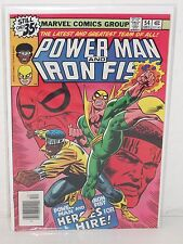 POWER MAN & IRON FIST #54 - 1st Heroes For Hire - VF - New Netfix Show MCU -1972