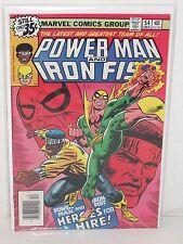 POWER MAN & IRON FIST #54 - 1st Heroes For Hire - VF - New Netfix Show MCU -1972