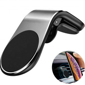 Magnetic in Car Phone Holder Air Vent Phone Mount For various phones (SILVER)