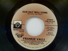 """FRANKIE VALLI """"OUR DAY WILL COME / YOU CAN BET"""" 45"""