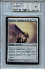 MTG Darksteel Sword of Light and Shadow BGS 9.0 (9) 2004 Mint Card 5340