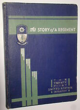 US 21st Infantry Regiment 1940 Unit History, Gimlet Book and Unit Crest Dondero