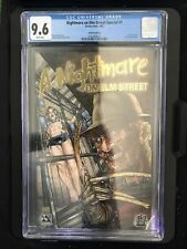 A NIGHTMARE ON ELM STREET SPECIAL #1 GOLD FOIL VARIANT CGC 9.6 AVATAR - PULIDO