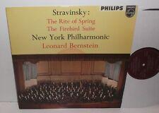 ABL 3268 Stravinsky Rite Of Spring / Firebird New York Phil Bernstein Minigroove