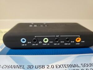 Sabrent 8 Channel USB Sound Card