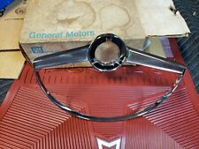 NOS 1964 Grand Prix Steering Wheel Horn Ring Catalina Bonneville Pontiac Bar