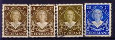 Países Bajos _ 1948 im. nº 509-510 coronación reina Juliane