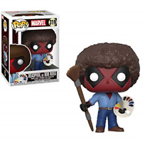 Funko 30865 Bob Ross POP Vinyl Deadpool Playtime RARE 319 Marvel Gift Idea NEW