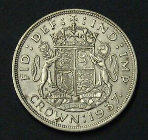 GB 1937 Silver Crown of George VI, VF.