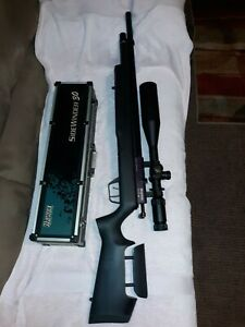 Benjamin Marauder PCP Air Rifle, Synthetic Stock With Hawk sidewinder 30mm Scope