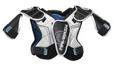 New Maverik Charger Youth Black/Silver Sz: Xs Lacrosse Shoulder Pads
