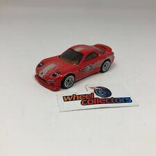 '95 Mazda RX-7  w/ Rubber Tires * Hot Wheels Diorama LOOSE 1:64 * F1360