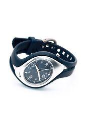 Nike Triax Dark Blue Silver Analog Blaze Sport Women's Watch