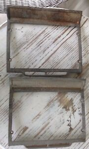 Raised Toe Running Board Step Plate Pair, Chev. Ford, Dodge, Plymouth, Rat Rod
