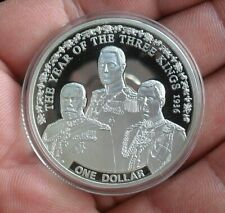 2010 PROOF NIUE ISLAND $1 THE YEAR OF THE 3 KINGS 1936