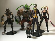 DC Batman Arkham Series Direct Bane & Joker w/ Scarface  Harley Quinn Scarecrow
