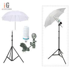 continuous lighting kit 2nd light stand+Light bulb+Umbrella+Swivel Adapter