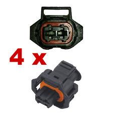 Fuel Injection Connectors - BOSCH DJB7026Y-3.5-21 (4 x FEMALE) injector plug fcc