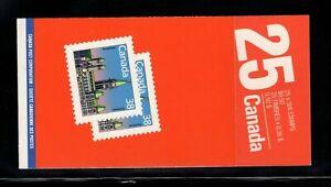 Canada Booklet BK103c Parliament MNH Close