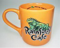 Rainforest Cafe Rio 2000 Iggy Iguana Lizard Ceramic Coffee Tea Cup Mug 16oz Lg