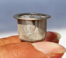 40PCS Quartz Crystal Smoking Pipes Wand Metal Filters Big Screens Accessories