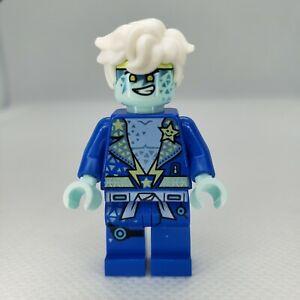 LEGO Ninjago Avatar Superstar Rockin Jay Minifigure Prime Empire Blue Ninja