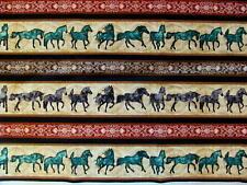 Quilting Treasures Dan Morris Playful Galloping Horses Southwest Cotton Fabric