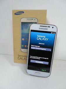 SAMSUNG GT-I9195 GALAXY S4 MINI 8GB FROST WHITE SMARTPHONE - UNLOCKED (R197)