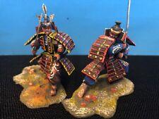 St. Petersburg Collection ~ 2 Samurai Warriors 54mm Scale