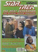 Star Trek Next Generation Poster Magazine # 55 very good