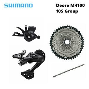 Shimano Deore M4100 10S groupset MTB 1X10Speed group set 10S42T 10S46T