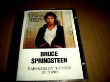 Bruce Springsteen Darkness On The Edge Of Town Minidisc Minidisk Mini Disc Disk