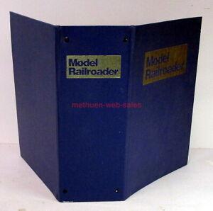 Empty Binder~Model Railroader Magazine~Vintage~Holds 12 Magazines~Books Too!