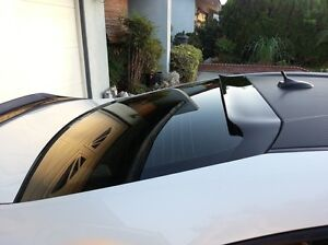HIC Rear Window Spoiler Visor Glossy Smoked Style  - 2013+ FRS FR-S BRZ 86