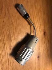 Neumann 3pol. klein-Tuchel-Buchse 8 Z.B. KM 84 ) auf 8 polBajonett gebraucht