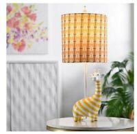 "Giraffe Figurine Table Lamp 9"" L x 9"" W x 22.75"" H COSTCO#1500966"