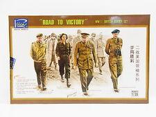 LOT 17550 | Riich RV35023 Road to Victory Brit. Leader Set 1:35 Bausatz NEU OVP