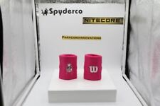 "Wilson 4"" Wristbands - NFL Breast Cancer Awareness - Free Shipping"