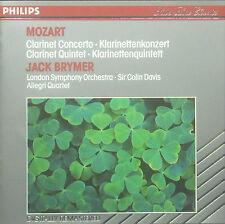 CD MOZART - clarinet concerto, concerto per clarinetto, Jack Brymer