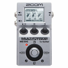Zoom MS-50G Guitar MultiStomp Pedal