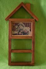 Coca-Cola Wood Shelf Framed Retro Photo Wall Hang Decorative Handmade