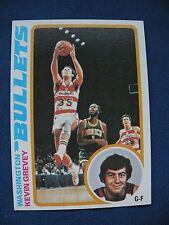 1978-79 Topps Kevin Grevey Washington Bullets card #113 NBA basketball $1 S&H