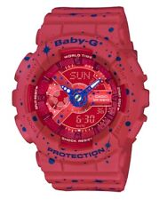 Casio Baby-G * BA110ST-4A Starry Red and Blue Watch COD PayPal