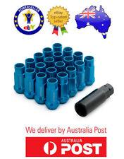 FORD FALCON XR6 BLUE XR8 STEEL WHEEL LUG NUTS EXTENDED OPEN END JDM JAP 20PCS