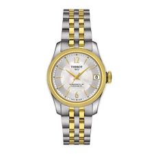 New Tissot Ballade Powermatic 80 Two-Tone Automatic Ladies Watch T1082082211700